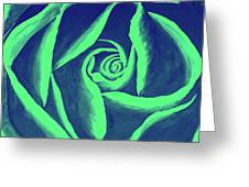 Rose Mint Greeting Card