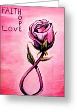 Rose Of Hope Greeting Card