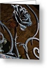 Rose Of Iron Greeting Card