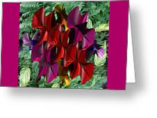 Rose Orchid Greeting Card
