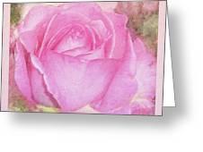 Enjoy A Rose Soft Pastel Greeting Card