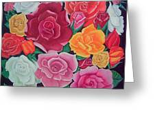 Rose Reunion Greeting Card