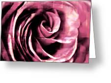 Rose Stamped Greeting Card