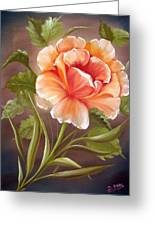 Rose Tropicana Greeting Card