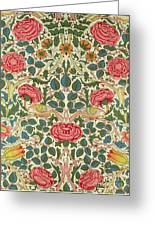 Rose Greeting Card by William Morris