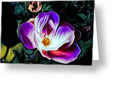 Rose With No Boundaries Greeting Card