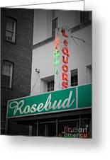 Rosebud Liquors Greeting Card