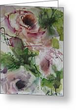 Rosebuds Greeting Card