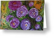 Rosebush Greeting Card