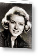 Rosemary Clooney, Music Legend Greeting Card