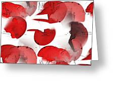 Rosenblaetter Greeting Card