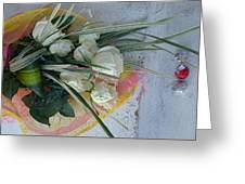 Roses And Chocolate  Greeting Card