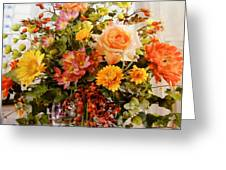 Roses And  Flowers  Greeting Card