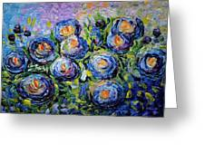 Roses Are Blue  Greeting Card