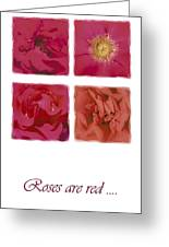 Roses Are Red .... Greeting Card
