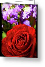 Roses Are Red II Greeting Card