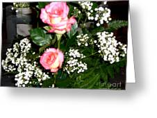 Roses Are Truly Beautiful  Greeting Card