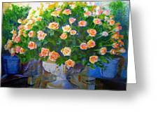 Roses At Table Bay Greeting Card