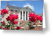 Roses At The Court House 2 Greeting Card