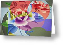 Roses For Her Greeting Card