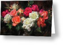 Roses For Kim Greeting Card