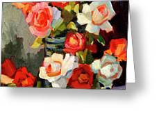 Roses From My Garden Greeting Card by Diane McClary