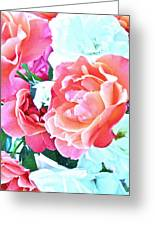 Roses Galore Greeting Card