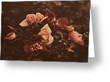 Roses Of Yesteryear Greeting Card