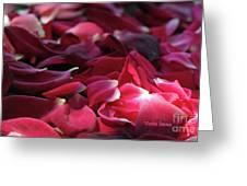 Rose Waves Greeting Card