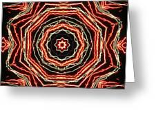 Rosette Fireburst Greeting Card