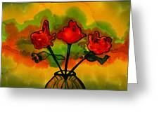 Rosey Afternoon Greeting Card