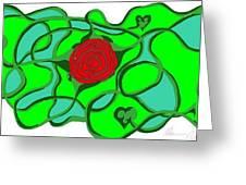 Roseybud Greeting Card