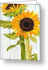 Rosezella's Sunflowers II Greeting Card
