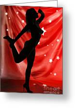 Rosie Nude Fine Art Print In Sensual Sexy Color 4690.02 Greeting Card