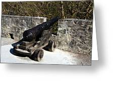 Ross Castle Canon Greeting Card