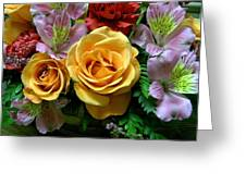 Rosy Bouquet Greeting Card