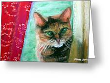 Rosy In Color Greeting Card