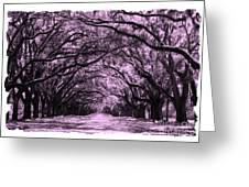 Rosy Road Greeting Card