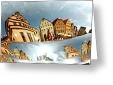Rotenburg In A Tuba Greeting Card