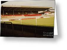 Rotherham - Millmoor - Main Stand 2 - 1970s Greeting Card
