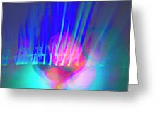 Rothko's Veil Greeting Card