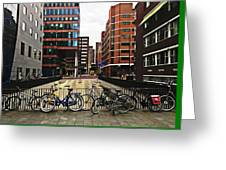 Rotterdam Architecture Greeting Card