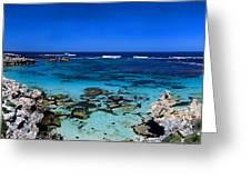 Rottnest Panorama Greeting Card