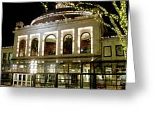Rotunda - Quincy Market Greeting Card