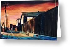 Rouge Alley Greeting Card