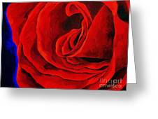 Rouge Greeting Card