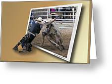 Rough Ride Greeting Card