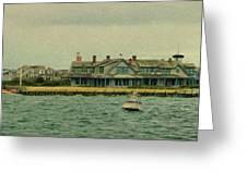 Nantucket Seas   Greeting Card