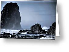 Rough Tide Greeting Card