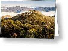 Round Mountain Lookout Greeting Card